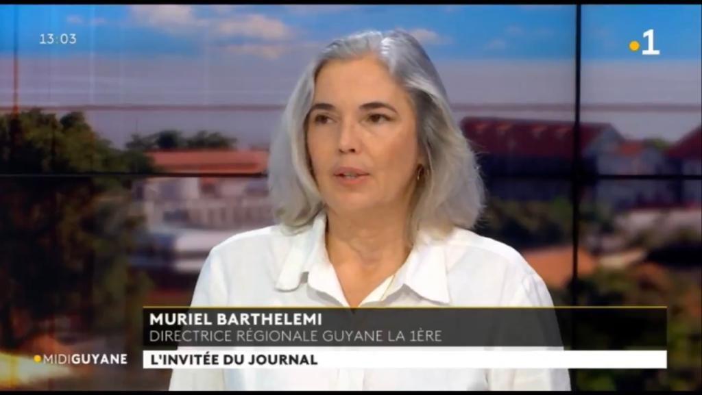 Muriel Barthélemi intervient lors du Midi Première du 30 mars 2021