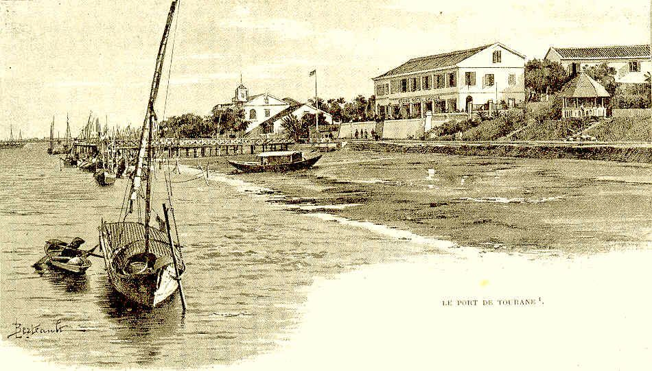 le port de Tourane (Da Nang)