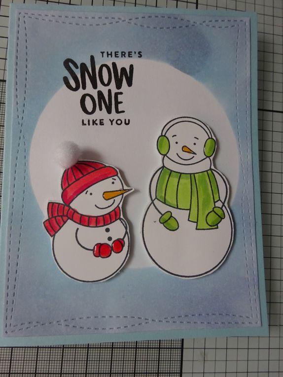 Simon Says Stamp : kit de janvier 7 exemples de carte