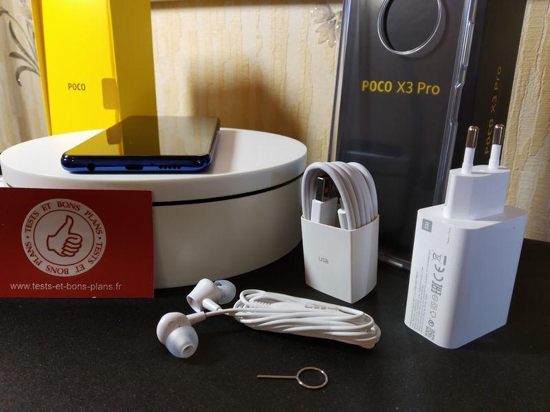 unboxing du smartphone POCO X3 Pro @ Tests et Bons Plans