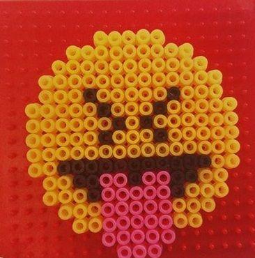 SES BEEDZ - Perles à repasser Emoticônes - Activité manuelles enfants avec SES CREATIVE