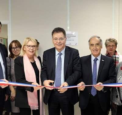 Inauguration de la nouvelle Maison de la justice et du droit à Lognes