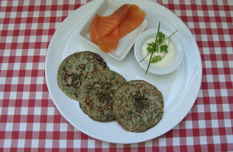 BLINIS* aux Fines Herbes