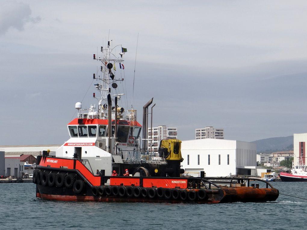 MTS VIGILANT  , remorqueur arrivant à la Seyne sur Mer le 24 avril 2018