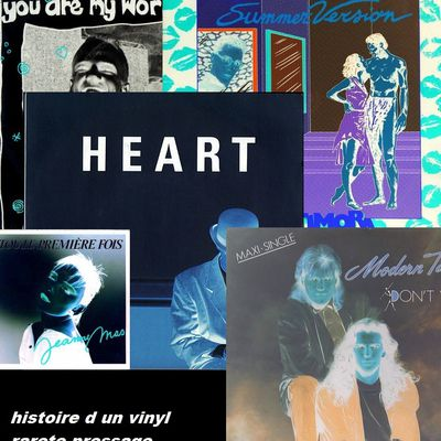 Histoire des vinyls - rareté - pressage different
