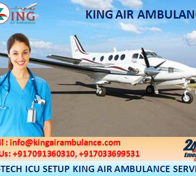 King Air Ambulance Safest & Affordable Service in Patna