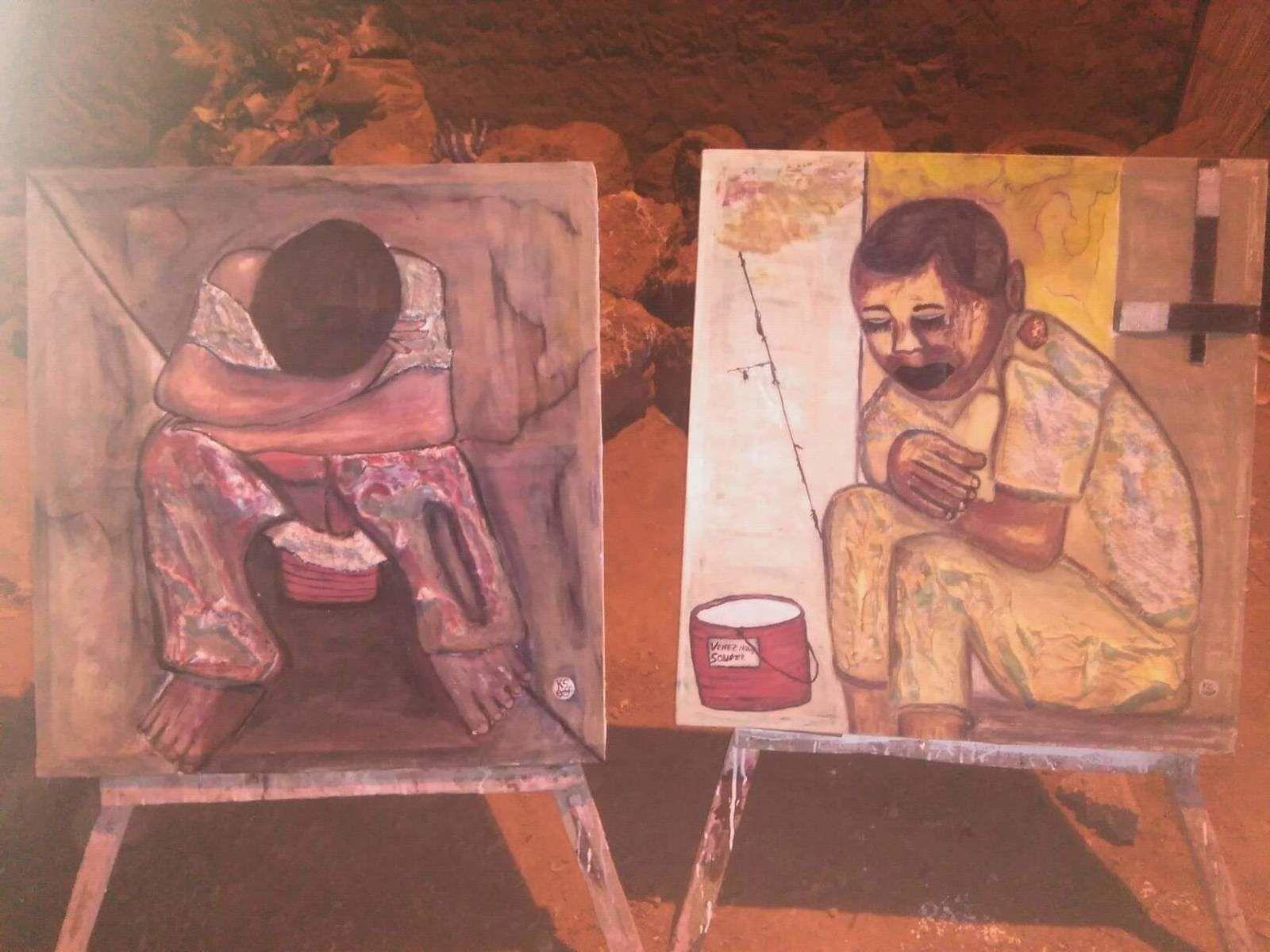 Voici quelques œuvres de Kadre, de magnifiques portraits.