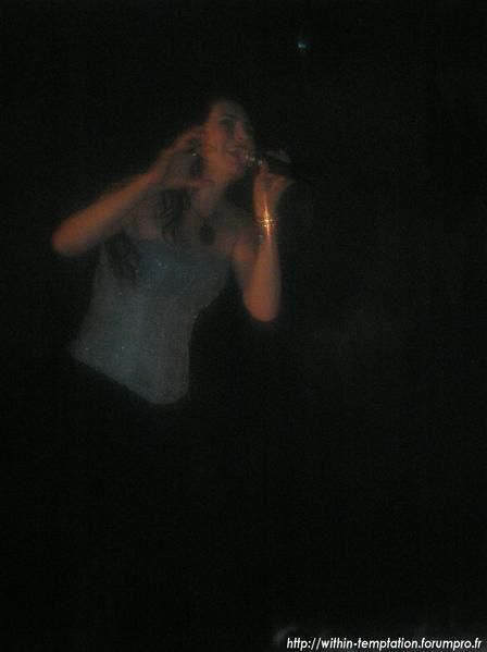 Photos du concert au Zénith de  Paris du 08/10/2007 par Romain Bachelard