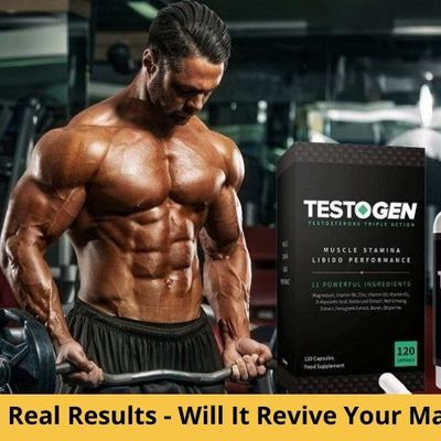 TestoGen Real Results – Does This Supplement Cause Any SideEffects?