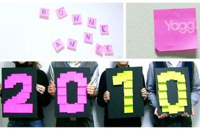 Bonne année 2010! Les voeux de Yagg en vidéo