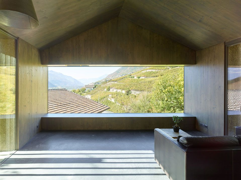 BORNET HOUSE IN OLLON, SWITZERLAND BY SAVIOZ FABRIZZI ARCHITECTES