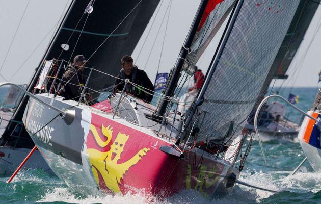 Classe Figaro - Alexis Loison et Fred Duthil remportent le Warm-up de la Sardinha Cup