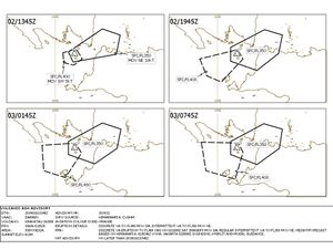 Anak Krakatau - Volcanic Ash Advisory for January 2nd and 3rd, 2019 - Doc.VAAC Darwin - One Click to Enlarge