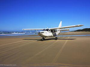 Fraser island - Australie - à bord d'un Cessna (cliquer pour agrandir)