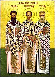 30 Janvier 10H30 : liturgie des 3 Saints Docteurs et St Jean de St Denis