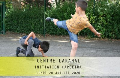 CENTRE LAKANAL-INITIATION CAPOEIRA-20 juillet 2020