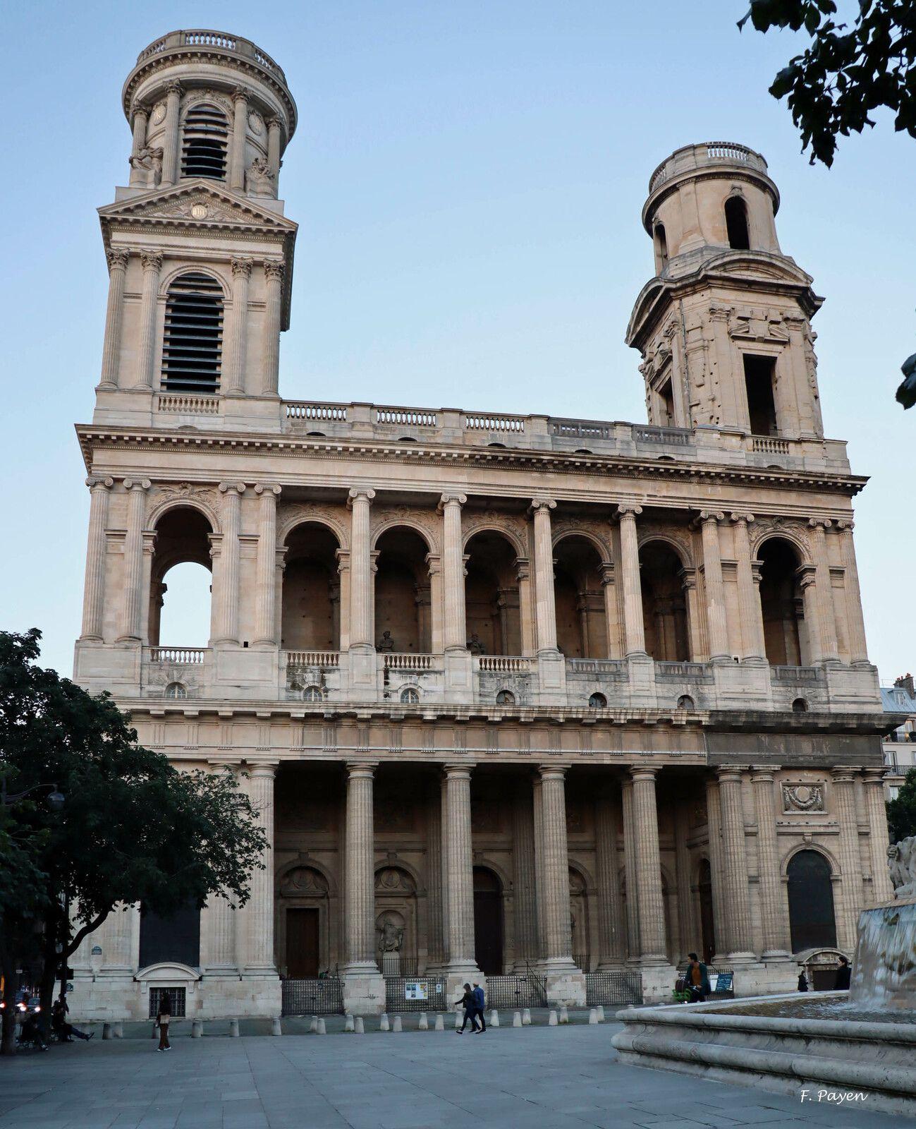 Eglise Saint-Sulpice et sa fontaine