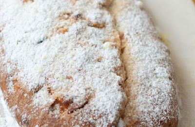 Stollen aux fruits secs