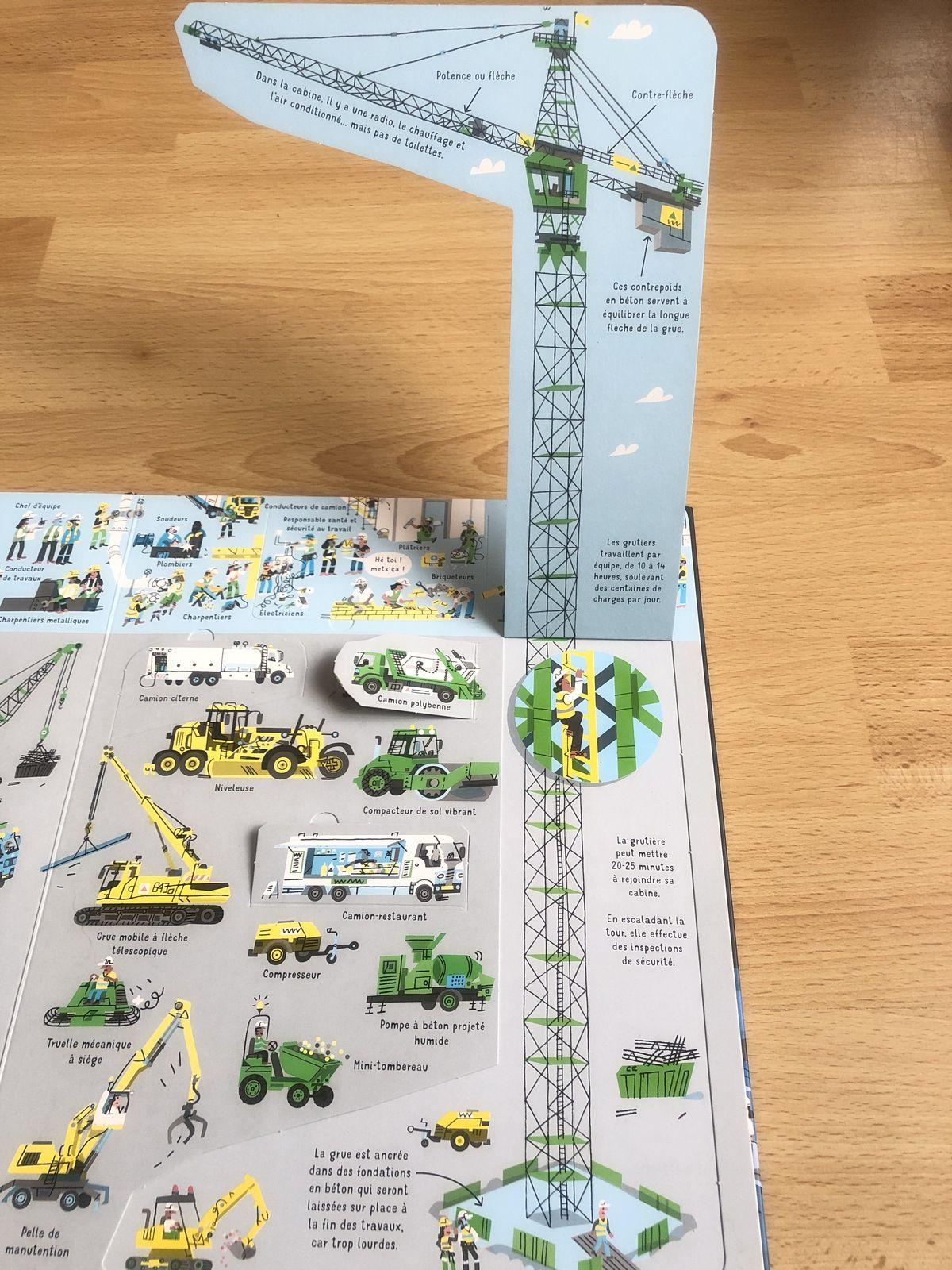 Découvrons ensemble la construction d'un gratte-ciel Usborne