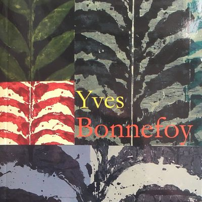 Europe, Cahier Yves Bonnefoy