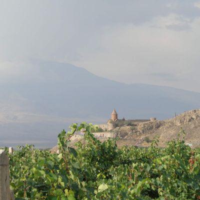 Arménie - Khor Virap, histoire, spiritualité et vin (de messe ?)