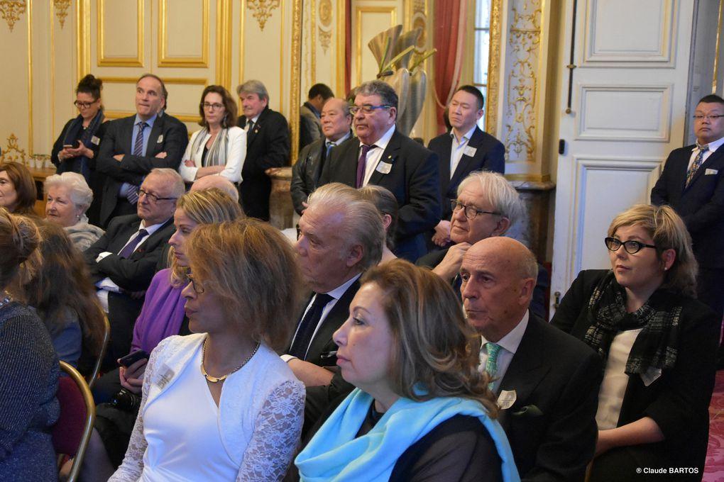 UNE PLUIE D'ETOILES D'OR au SENAT LE 11 mars 2020