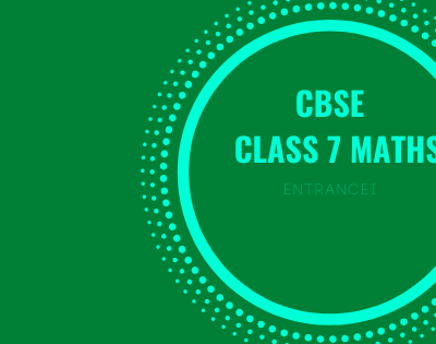 CBSE Class 7 Maths | Maths Notes Questions & Worksheet