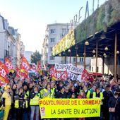 57e jour de grève à la Polyclinique de l'Ormeau à Tarbes: un manifestant agressé