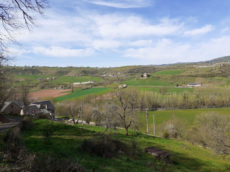 De superbes vues sur la vallée ...