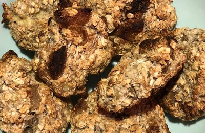 Cookies healthy abricots coco