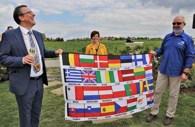 Gelungene feierliche Einweihung des neuen EU-Mittelpunkts auch ohne Markus Söder