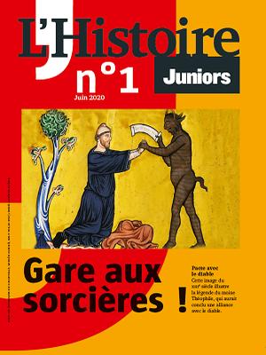 Histoire Juniors, la nouvelle revue à télécharger gratuitement
