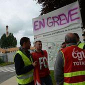 La grève a repris lundi matin à la raffinerie Total de Grandpuits (Seine-et-Marne).
