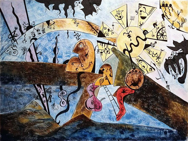 Chon Muñoz González - 3 étapes d'une composition