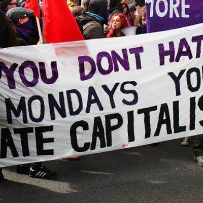 ¿Odiar el Capitalismo los lunes?
