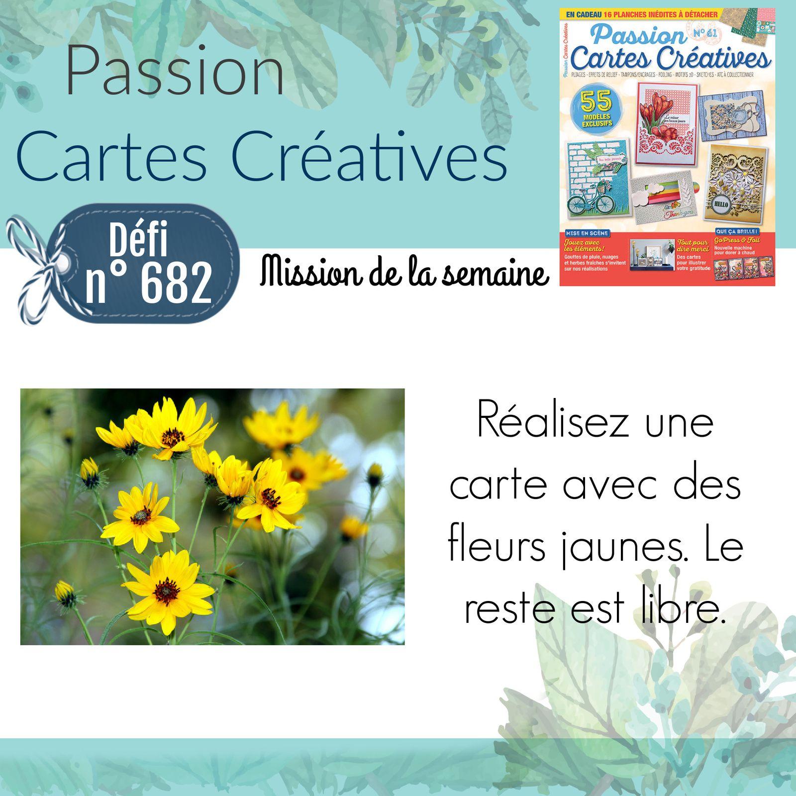 Défi 682 de Passion Cartes Créatives