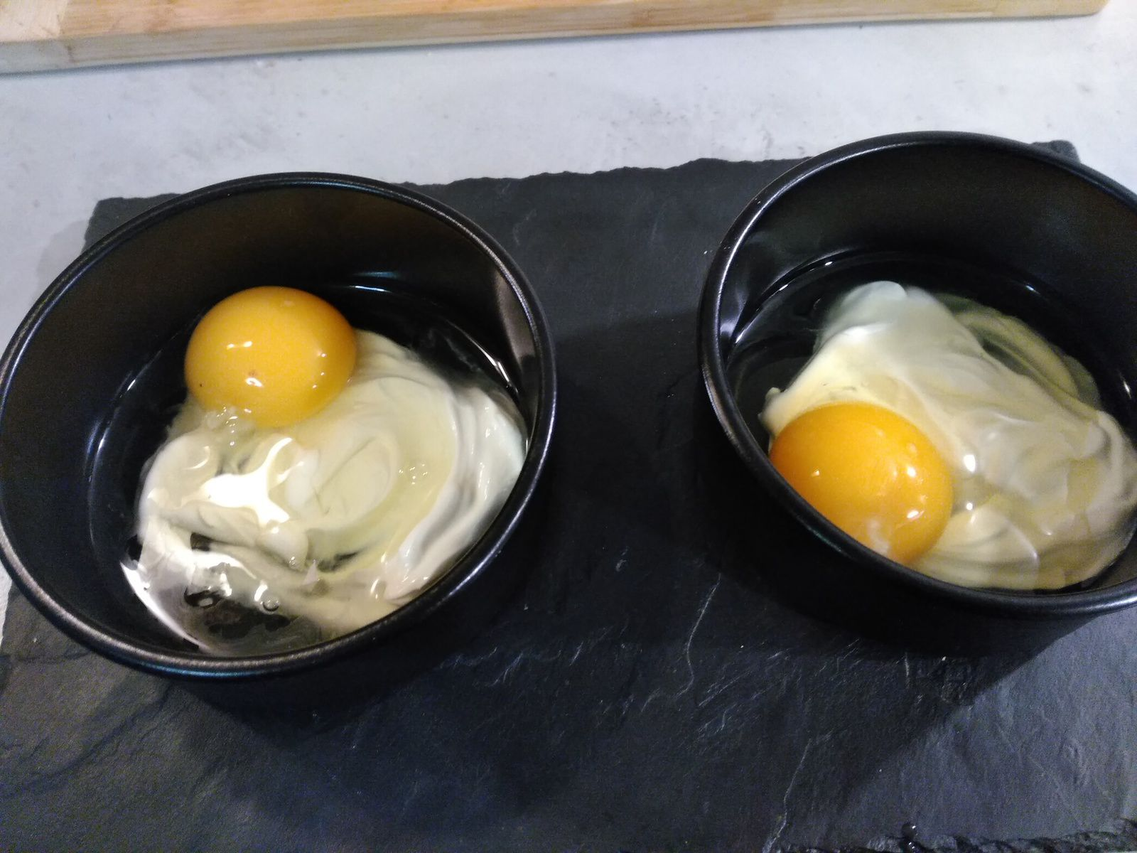 "Oeuf cocotte ""minute"""