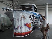 Photo reportage Barracuda Tour - les 21 Barracuda en préparation à Arcachon (33)