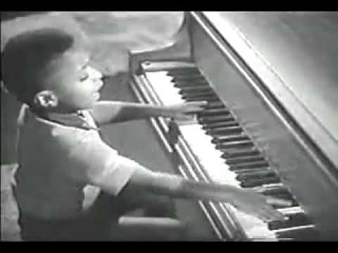Young Little Richard, à 10 ans, performance!