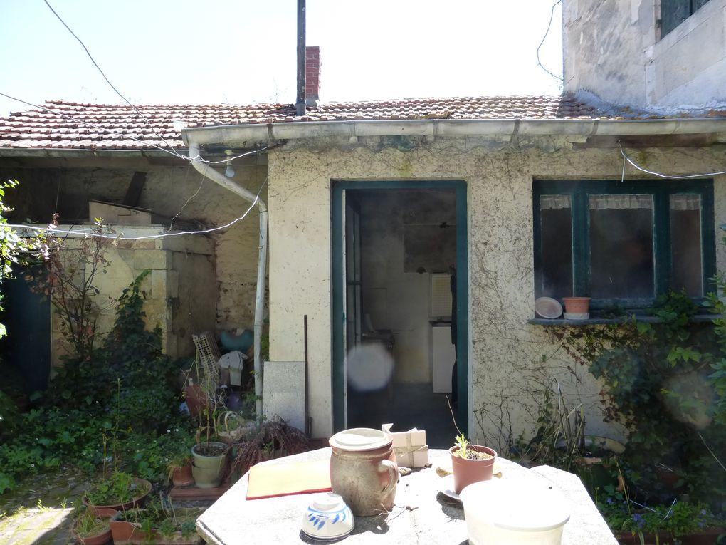 Après suppression des toilettes extérieurs et de l'ancienne cuisine