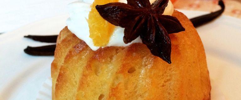 Savarin au rhum, orange & vanille - Bataille Food #30