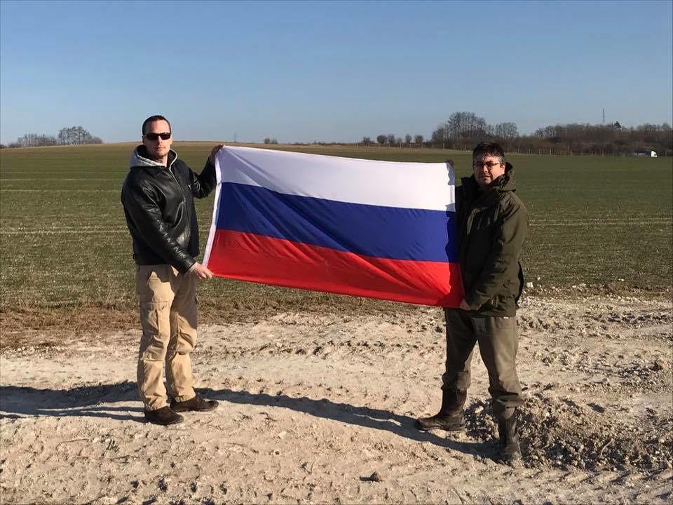 Pierre Malinowski, son lien avec la Russie. Capture faite par (c) Marc Rylewski
