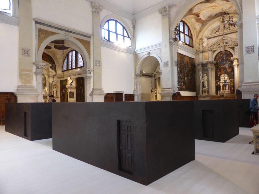 An Weiwei. 55e Biennale de l'art, Venise, 2013 © Photographies Antoine Prodhomme, journées presse Biennale, mai 2013.