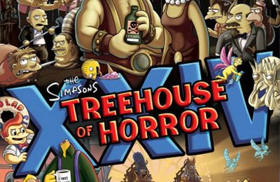 THE SIMPSONS (Générique de Guillermo del Toro) Treehouse of Horror XXIV