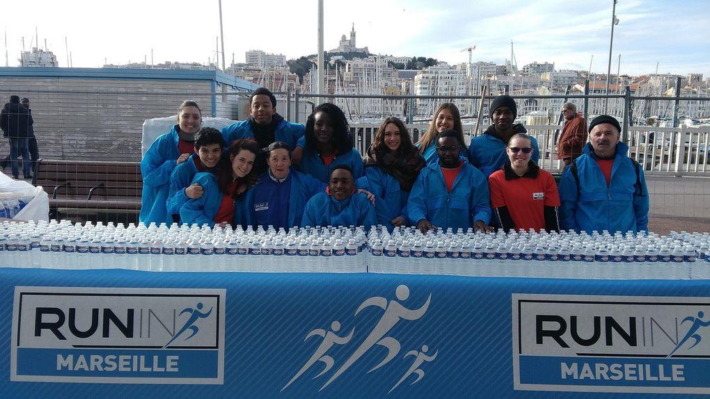 L'ACP au Marathon de Marseille, Courses Hors Stade de Mars 2018