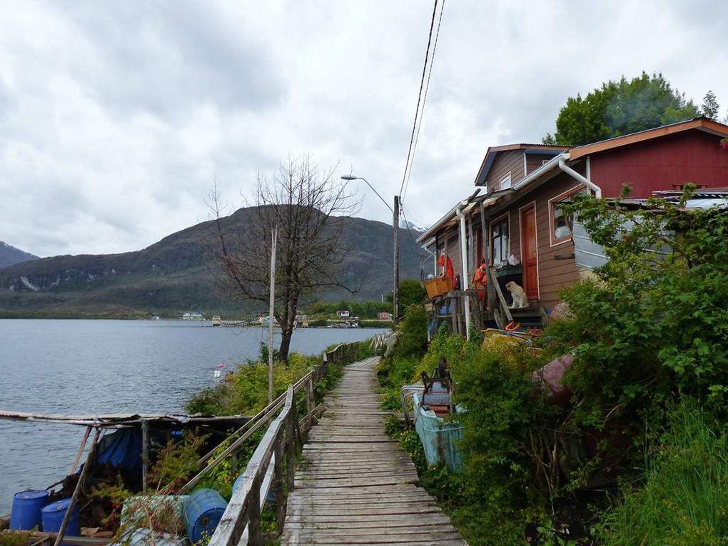 Les fjords chiliens : de Puerto Natales à Caleta Yungay.