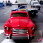 RENAULT MANOIR BREAK DE CHASSE 1960 C.I.J 1/43 - car-collector.net