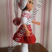 tuto gratuit poupée: bonnet long avec pompon - Chez Laramicelle