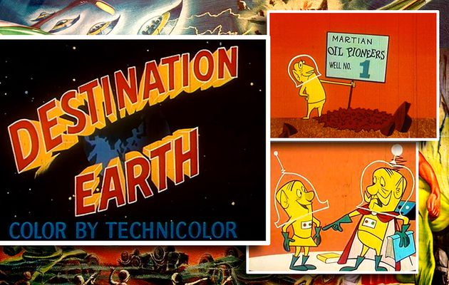 👽 CARL URBANO - DESTINATION EARTH (1956)