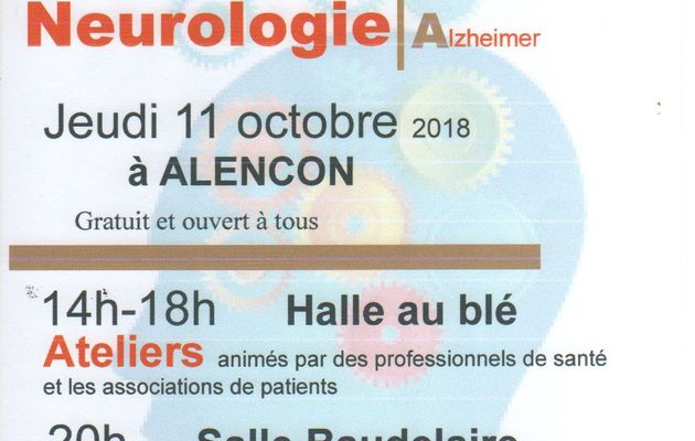 Participation à la JOURNEE SEPIA DE LA NEUROLOGIE : NEURALENCON du CHICAM alencon